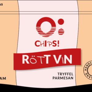 Ö-CHIPS - Rött vin